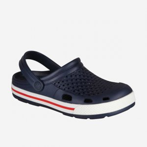 Clogs COQUI 6403 Navy/White