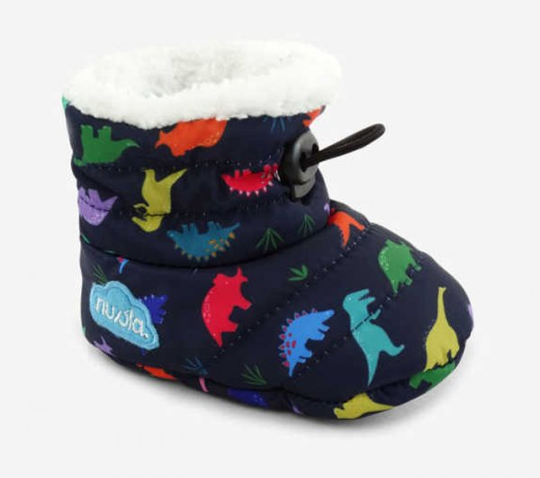 Slippers NUVOLA Baby Printed Dino Dark Navy