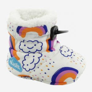 Slippers NUVOLA Baby Printed Rainboow White