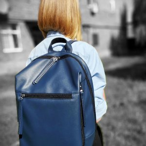 Backpack Alba Soboni (Manufactura) MAN-002-1 blue