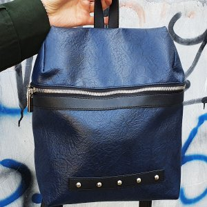 Backpack Alba Soboni (Manufactura) MAN-014-2 blue
