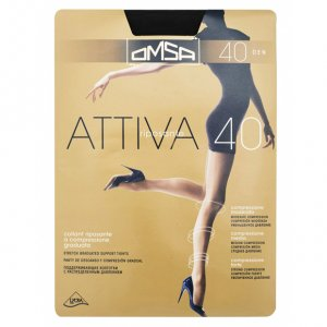 Tights OMSA 40 den ATTIVA black